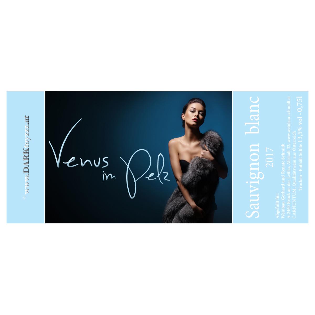 DARKtoyzzz-Weinetikett - Venus im Pelz