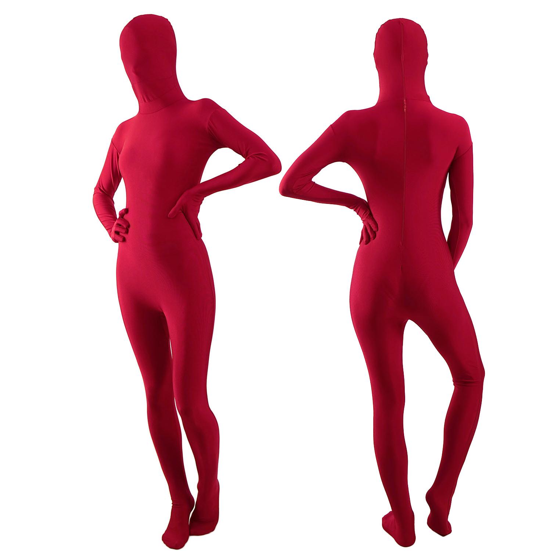 Zentai Suit rot