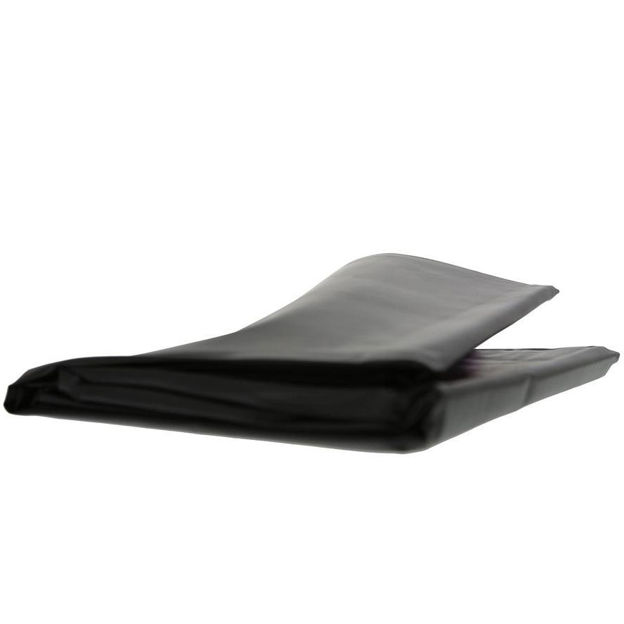 Lack-Bettlaken schwarz 160 x 230cm