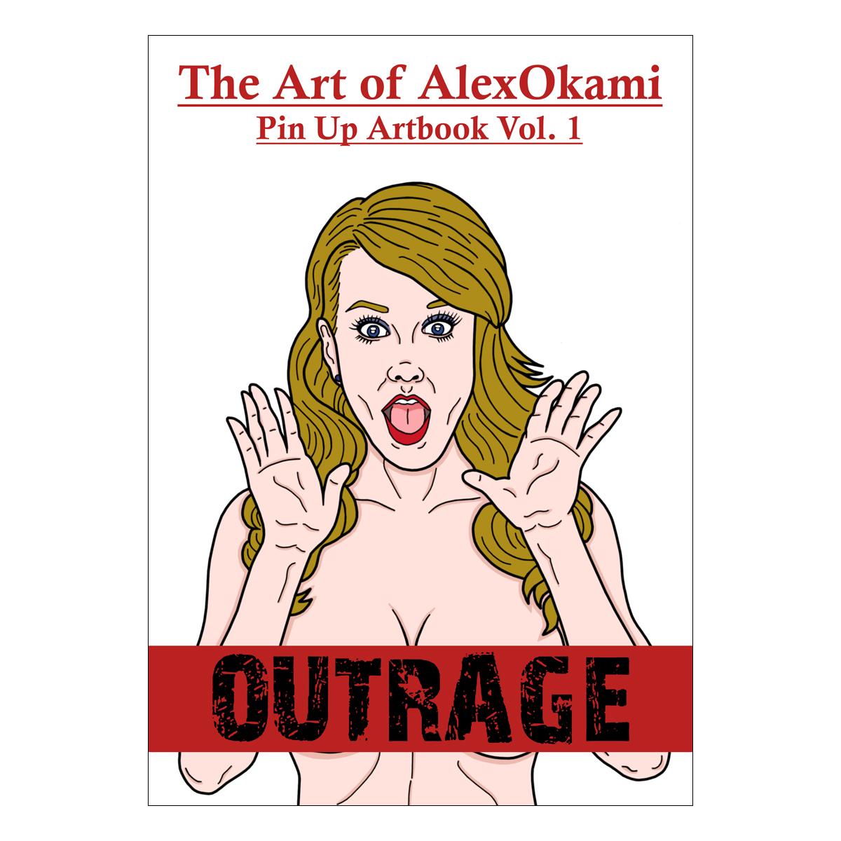 Pin Up Artbook Vol. 1 von Alex Okami