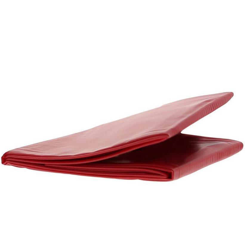 Lack-Bettlaken rot 160 x 230cm