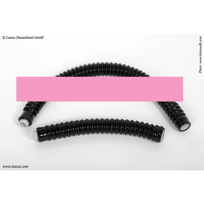 LATEXA - Latex-Schlauch mit Gewinde, 25 cm
