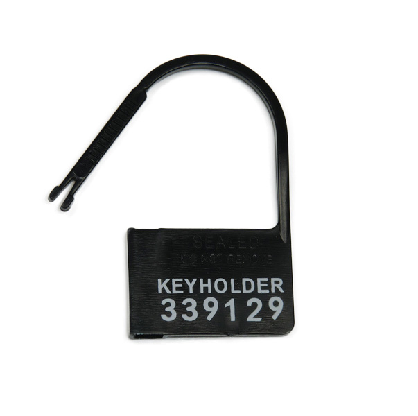 Einmalschloss für Keuschheitskäfige und -gürtel KEYHOLDER schwarz - 50 Stück