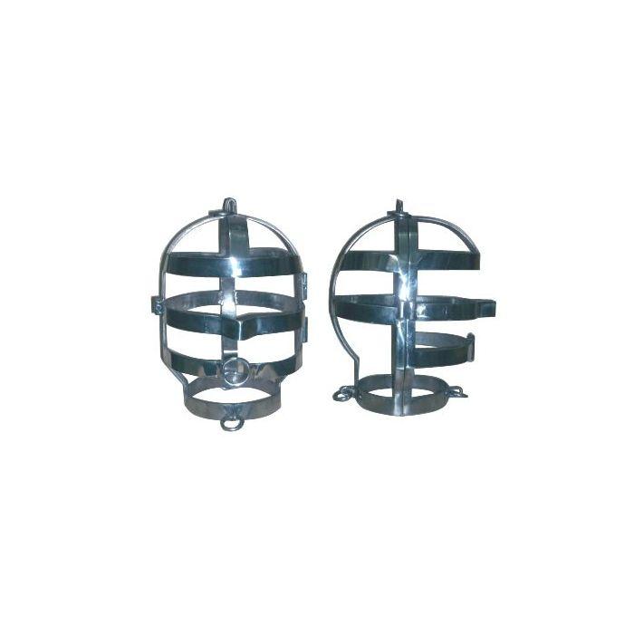 Edelstahl-Kopfkäfig glänzend poliert