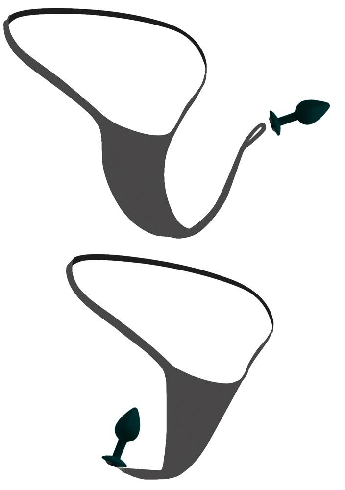 HOOK UP PANTIES - Crotchless Secret Gem