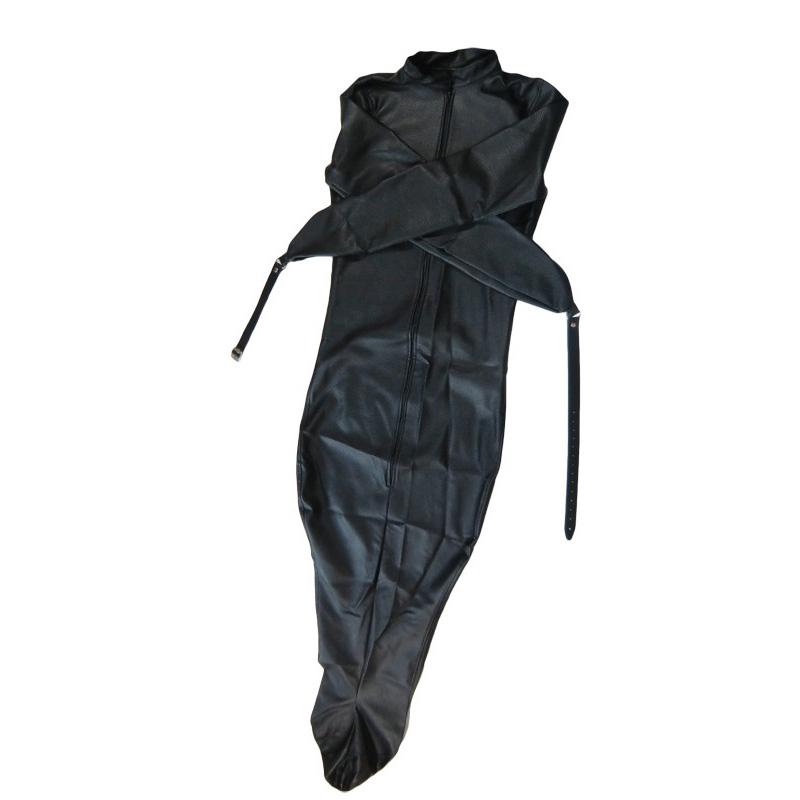 Bondage-Schlafsack mit Ärmeln